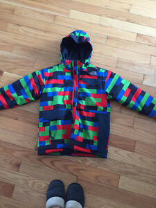 Large youth (14/16) boys North Face winter jacket