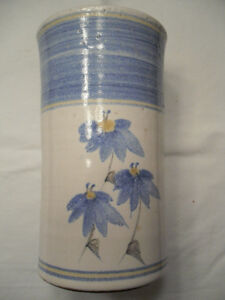 china vases - pottery vase - vintage pitcher