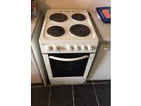 Bush electric cooker hob