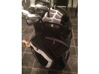 Cobra king F6 irons & Cart bag