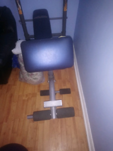 Competitor work out bench. Great condition