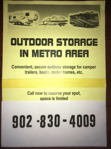 Outdoor Storage in the Metro Area