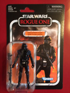 Star Wars Vintage Collection Rogue Imperial Death Trooper