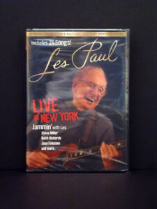 Les Paul Live in New York Concert DVD - NEW