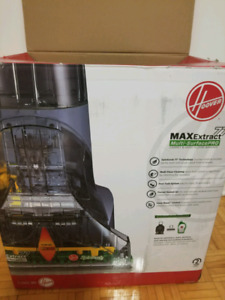HOOVER MAX EXTRACT 77 Multi-SurfacePRO Hardwood and carpet clean