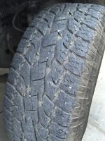 Toyo Open Country AT II - P265 65 17 tires