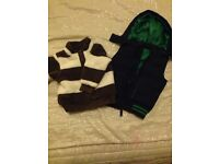 12-18m M&S BOY body warmer and fleece