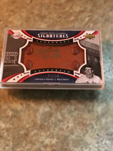 JOHNNY PESKY 2007 UPPER DECK SWEET SPOT CLASSIC AUTOGRAPH#28/50