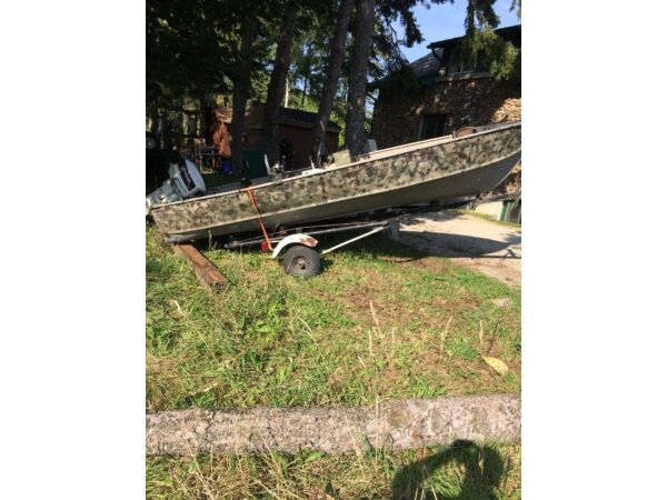 Used 1989 Other 16 ft aluminium with 30hp johnson