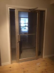 commercial/retail Aluminum door