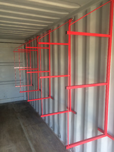 Sea containers /Shelving /Lock Boxes / Modifications