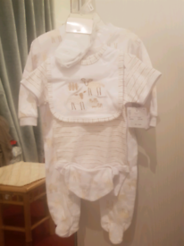 Baby boys baby grows brand new from tk max