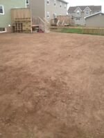 Landscaping, new lawns, retaining walls, flower beds