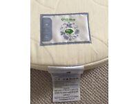 Stokke Little Green Sheep natural cot mattress