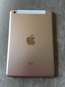 Gold iPad mini 3 wifi + cellular (bell) 64gb