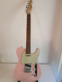 Squier Affinity FSR Telecaster in Shell Pink