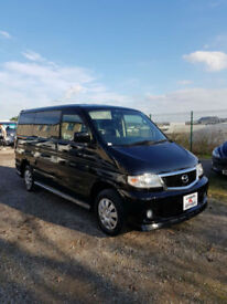 2003 Mazda Bongo 2.0 Ltr Aero Brand New Camper Conversion Only 33,000 Miles !!