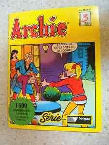 Archie des gros formats et des petits en bonne condition!!!