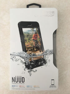 Black Lifeproof Nüüd Case for IPhone 6/s Plus - BRAND NEW IN BOX