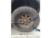 Suzuki sj vitara Jimny off road wheels 235/75r15
