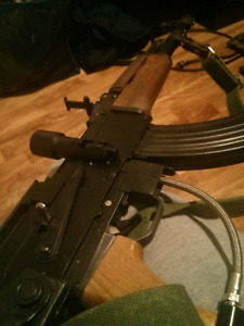Combo Paintball AK 47 T68 Full metal & wood
