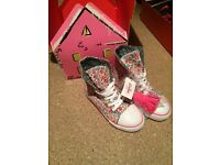 Cath kidston NEW canvas boots