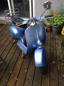 1979 PIAGGIO VESPA SHOWROOM MINT AND ORIGINAL FOR SALE