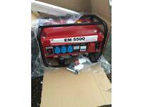 New generator EM 5500