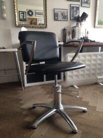 2 Salon/hair dresser chairs