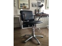 2 Salon/hair dresser chairs