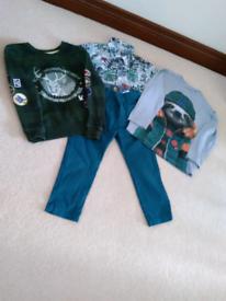 Boys Designer Clothes Bundle. Age 5 Years. 10. Items.