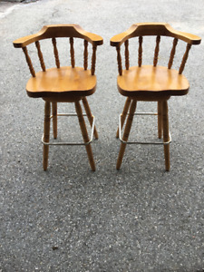 Maple Bar Stools
