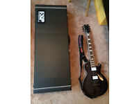 ESP ECLIPSE 2 see through black mint condition