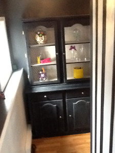 Country blue hutch