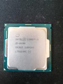Intel Core i5-8400 SR3QT 2.8GHZ Socket LGA 1151 CPU / Processor.