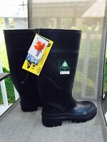 Black work Rubber boots