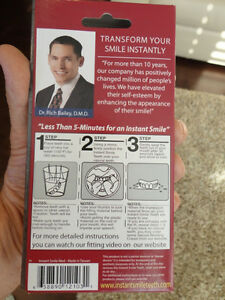 Instant Smiles Transform Your Teeth Instantly Fits On Your Teeth Kitchener / Waterloo Kitchener Area image 7