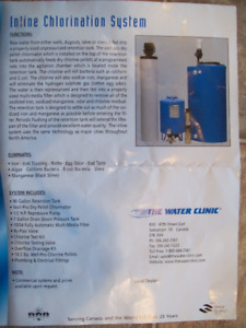 Inline Water Chlorination System