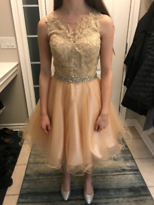 Formal dress and matching shoes