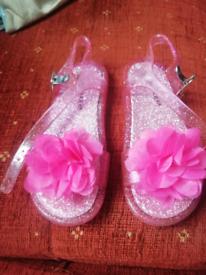 Girls summer jelly sandals