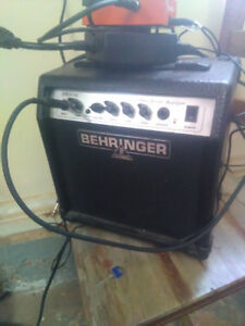 10 watt behringer practice amp distortion pedal