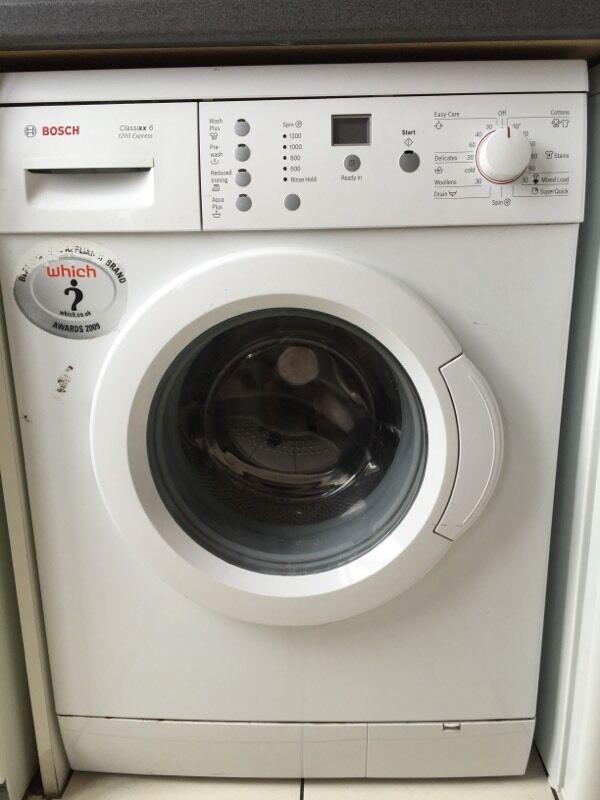 bosch 1200 express washing machine manual