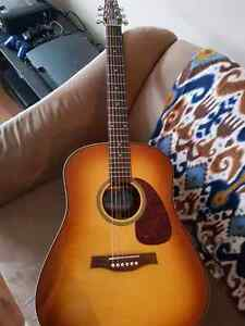 Sunburst seagull acoustic