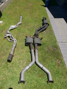 "1&3/4 Extractors 100Cell Cats Twin3"" Exhaust Wrecking VZ SS 2005 Tuncurry Great Lakes Area Preview"