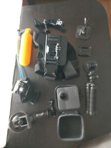 GoPro Fusion 360 camera with accesories