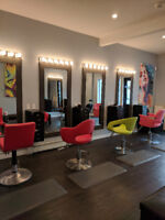 New Hair Salon looking to rent chairs for stylist.