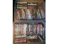 100+ DVDs