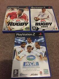 PlayStation 2 rugby game bundle