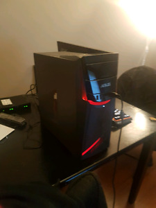 ASUS GAMING RIG WITH MONITOR , KEYBOARD AND MOUSE.