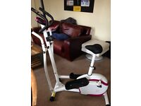 Davina McCall exercise bike and cross trainer!